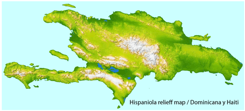 Full vector relief map of the Dominican Republic, exact scale, the ability to bind to the coordinates. Only terrain without roads. For the design, printing.  Editable map.  Free Download. Corel Draw >>> Adobe Illustrator CS4 >>>Completo mapa en relieve del vector de la República Dominicana, la escala exacta, la capacidad de unirse a las coordenadas. Único terreno sin caminos. Para el diseño, impresión. Editable map.  Gratis Descarga. Corel Draw>>> Adobe Illustrator CS4 >>