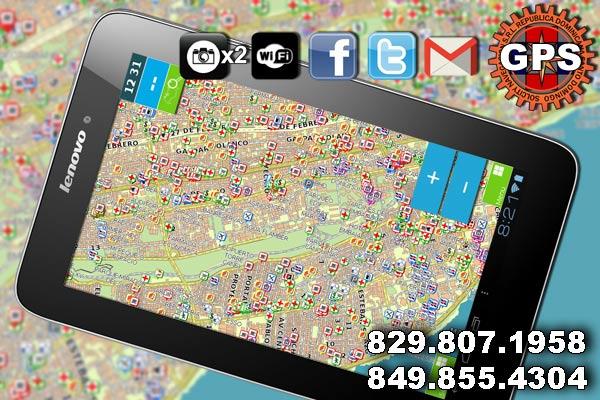 GPS Navegador Dominicano