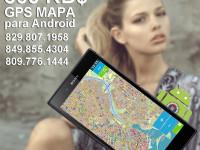 GPS Mapa Dominicano, applicacion offline