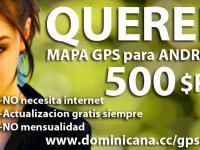 GPS Mapa Dominicano para Android