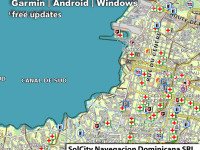 GPS maps of Haiti and Dominican