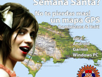 GPS Dominican Map for Garmin, Android and Windows