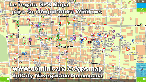 Descargar Mapa de Republica Dominicana para Windows & Garmin Dominican Map