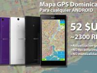 GPS Aplicacion para Android con Mapa Dominicano