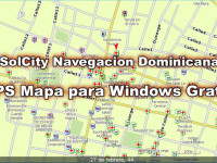 GPS Dominican map for Garmin & Windows