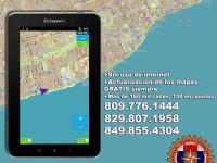 Navegador GPS para auto, con Mapa GPS Dominicano