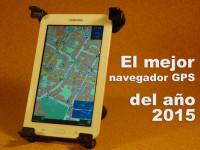 El mejor Navegador GPS del ano 2015