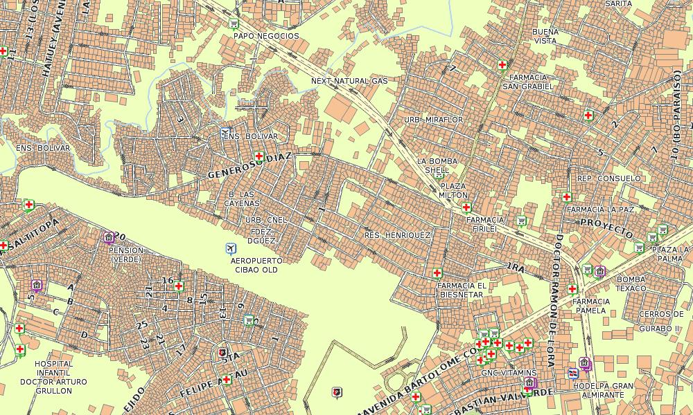 Santiago Street Map Garmin Dominican Republic GPS Map For All - Dominican republic cities map